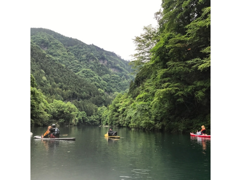 【Tokyo · Okutama】 Introduction image of Okutama sup (11 o'clock set, slowly relaxing as it is a small group!)
