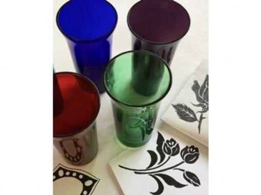 ~砂で削るガラスの彫刻~ オリジナル「ビアグラス」を作ろう!