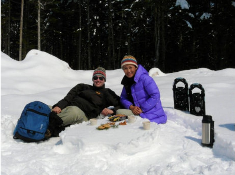 [Hokkaido Furano] introduction image of snow picnic to Primeval Forest (1 day private tour)