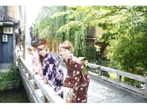 【京都・四条】大人気!着物レンタル!好みの新作着物も選べるプラン~駅から徒歩3分・手ぶらでOK!の紹介画像