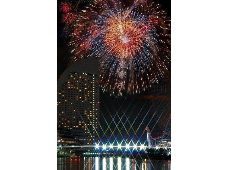 【Kanagawa · Yokohama】 July 15th and 16th will be held! Yokohama Sparkling Twilight ☆ 2017 Introduction image of fireworks viewing cruise