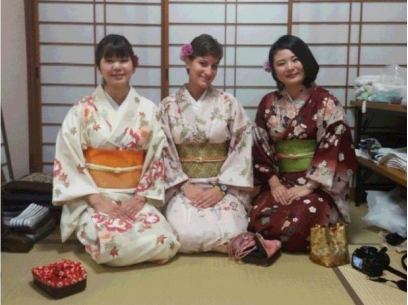 【Shonan · Kamakura】 Introduction image of kimono rental (casual kimono plan)