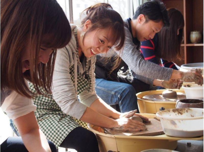 【宮城県・仙台市】陶芸体験教室!みんな楽しく夢中になれる★電動ろくろ体験120分★の紹介画像