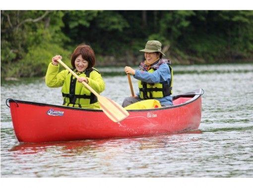 【青森県西目屋村】白神山地に囲まれて、ゆったり水上散策・カナディアンカヌー