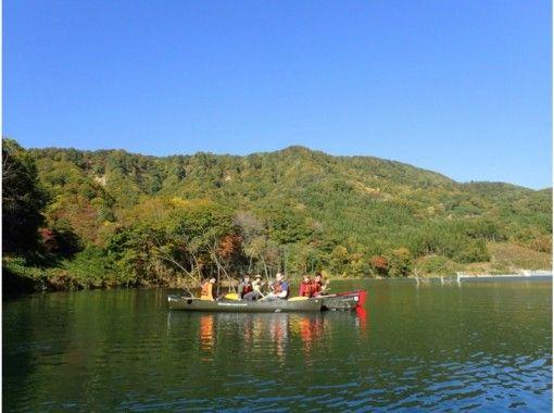 【青森県西目屋村】白神山地に囲まれて、ゆったり水上散策・カナディアンカヌーの紹介画像