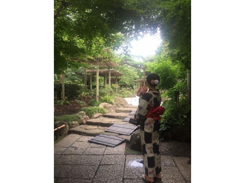 【湘南・鎌倉】写真を撮りたい方オススメ★手軽に着物レンタル(60分コース)の紹介画像