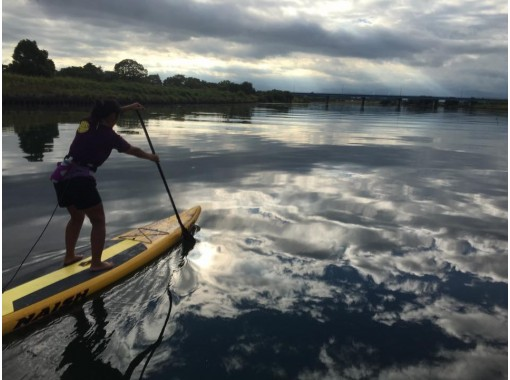 【滋賀・琵琶湖】びわ湖でSUP(サップ)半日体験スクール♪『びわ湖』で体験♪【初めての方、お一人様大歓迎!】の紹介画像
