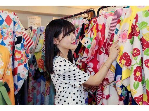 京都 四条 着物レンタル『カップルプラン』京都デートに最適!スタンダード着物プランの着物選び放題♪の紹介画像
