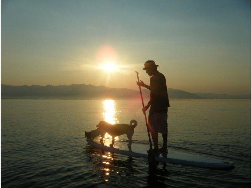 【滋賀・琵琶湖】1日じっくりSUPスクール♪日本一大きな湖『びわ湖』で【人気コース】の紹介画像