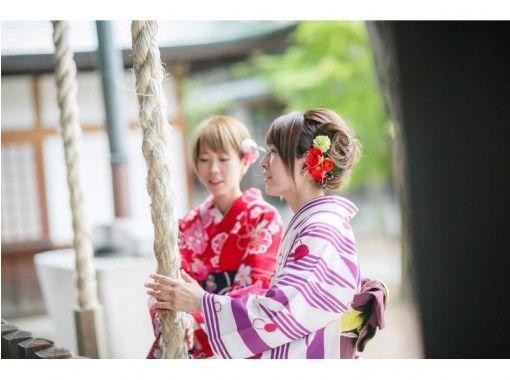【長野・松本・浴衣・着物レンタル】フリーレンタルコース!松本城まで徒歩2分!