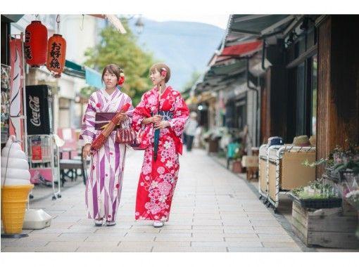 【長野・松本・浴衣・着物レンタル】3時間レンタルコース!松本城まで徒歩2分!