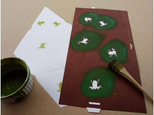 【三重・伊勢】伝統工芸!伊勢型紙体験 ♪ 版画コース