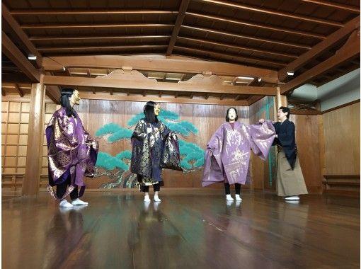 【福岡・福岡市】650年の歴史を持つ伝統芸能「能」を体験!団体様、外国の方の参加も大歓迎です!の紹介画像