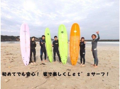 【三重・志摩】初めての方歓迎!サーフィンスクール2時間&道具レンタル2時間(ボード&ウエット)