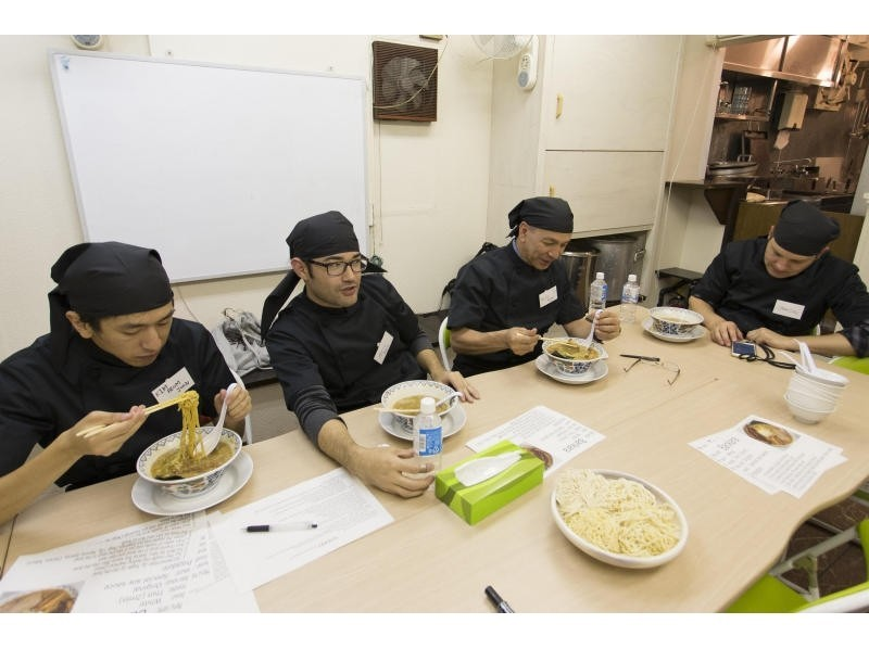 【Tokyo · Ikebukuro】 Making ramen for foreigners ★ Ban ramen college university opened! Introduction image of