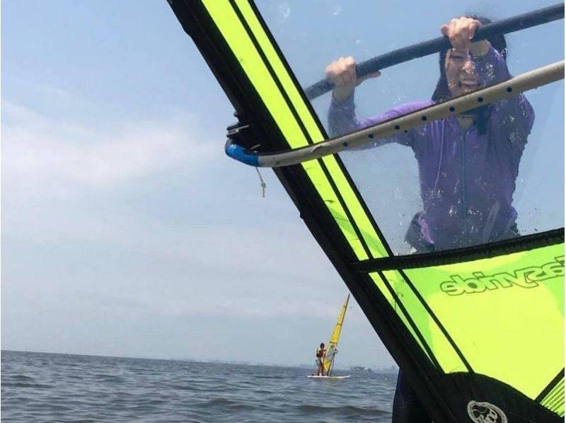 【千葉・幕張】検見川浜でウインドサーフィン体験半日コース(オールレンタル★シルバー・お子さんも歓迎)の紹介画像