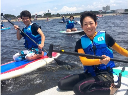 【千葉・幕張】検見川浜で体験SUPスクール(半日コース)★写真無料★