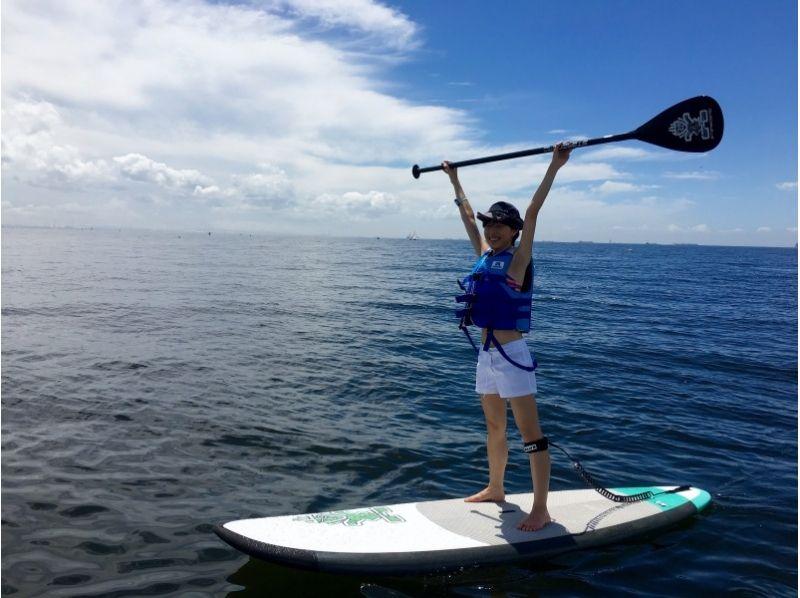 海浜幕張 SUP体験
