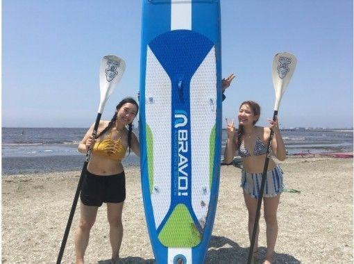 【千葉・幕張】検見川浜で体験SUPスクール(半日コース)★写真無料★の紹介画像