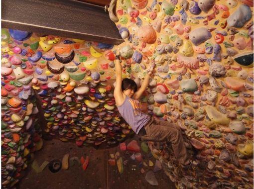 [東京/吉祥寺]室內攀岩/體驗30分鐘的攀岩/沒有首次註冊的計劃の紹介画像