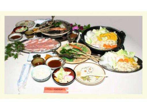 [山梨/甲府市] Shosenkyo的Koshu特色菜!手工體驗和Yochabare菜餚(梅)計劃の紹介画像