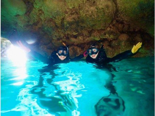 [冲绳/蓝洞/浮潜]喜欢喂蓝洞和热带鱼!热门GoPro照片和视频免费★超级稀有!冲绳地方指南★の紹介画像
