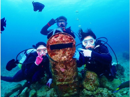 [Okinawa / Impression / Fun diving] Enjoy feeding coral reefs and tropical fish! Popular GoPro Photos & Videos Free ★ Super Rare! Local Okinawan Guide ★の紹介画像
