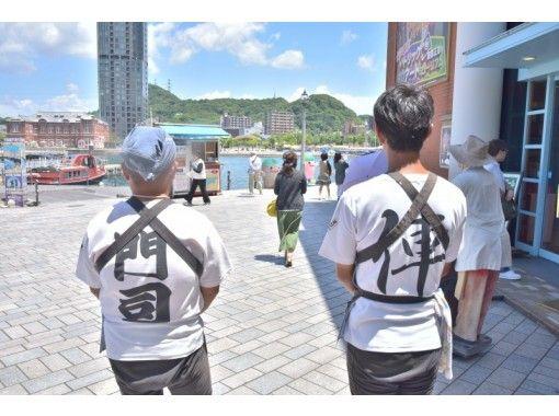 【福岡・北九州市】2名以上でお得!お気軽に門司港レトロを巡る!人力車で粋な観光ガイド(30分貸切コース)