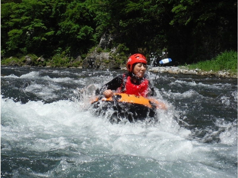 "【Tokyo · Okutama】 Introduction image of Rafting & Hydro Speed ​​""W Adventure"" plan (with lunch)"