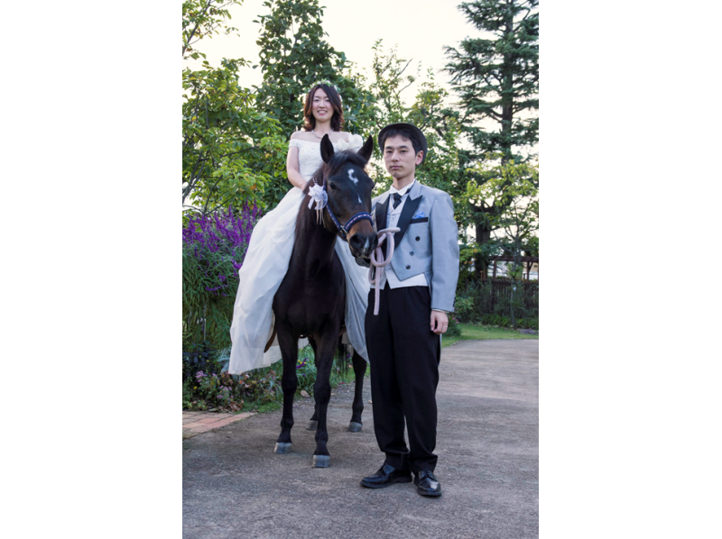 【Tokyo · Hino】 Introduction image of a wedding location photo shooting plan (3 and a half hours) by a professional photographer