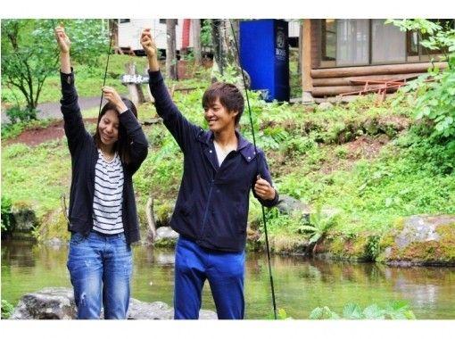 【長野・松本・美ヶ原】釣り・そば・お風呂!大自然満喫 ♪ 桜清水コテージオリジナルプランの紹介画像