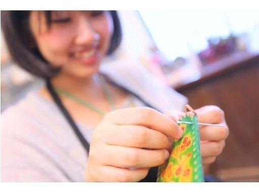 【东京青山】皮革工艺一日体验☆手工钥匙包、笔盒、旅行包♪の紹介画像