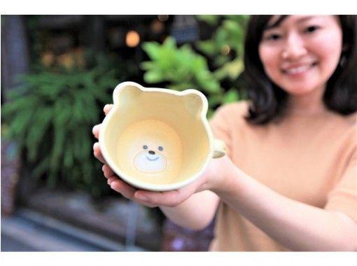 [Nagoya Sakae] Painting ceramic art experience that you can choose from 6 items ☆ Fun sense up ♪の紹介画像