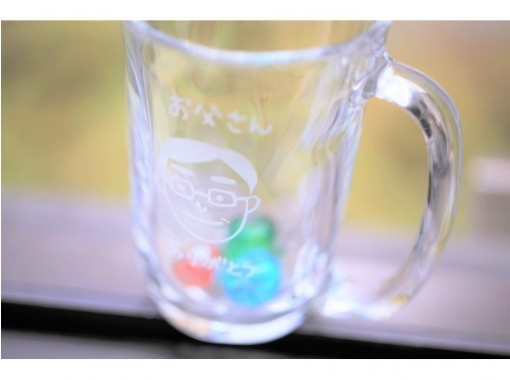 【名古屋榮】噴砂玻璃工藝體驗☆從製造開始的時尚生活♪の紹介画像