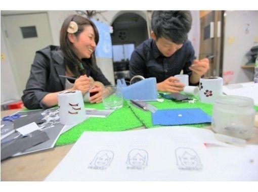 【名古屋荣】也能刻字的木雪草雕塑一日体验の紹介画像
