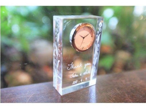 [นาโกย่า Sakae] หลักสูตรของขวัญนาฬิกาแก้ว☆ของขวัญที่มีความรู้สึกครบรอบ♪の紹介画像