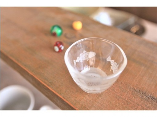 [Tokyo Ginza] Sandblast glass craft experience ☆ Fashionable life starting from manufacturing ♪の紹介画像