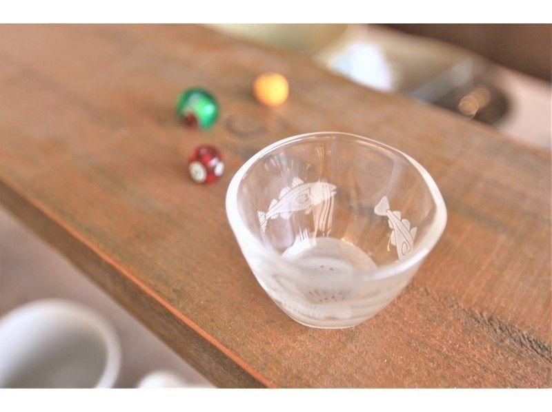 【東京☆新橋駅歩5分  グラス一日体験】ものづくりから始まるオシャレ生活☆サンドブラスト グラスの紹介画像