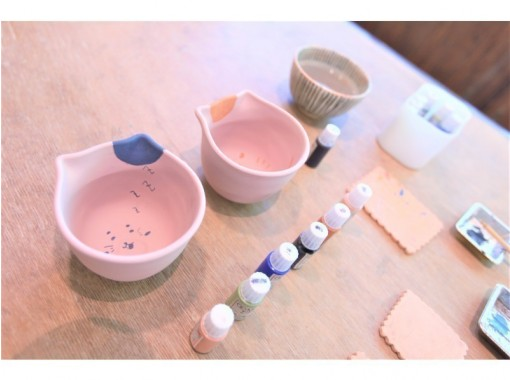 [Tokyo Ginza] Painting ceramic art experience that you can choose from 6 items ☆ Fun sense up ♪の紹介画像
