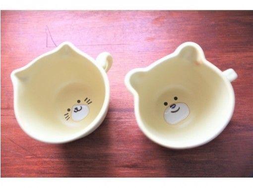 [Tokyo Ginza] Bear / cat mug painting experience ☆ Enjoy every day with an original mug ♪の紹介画像