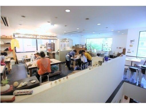 【福冈天神】景泰蓝一日体验☆吊坠制作体验,磨练你的时尚感☆银+玻璃套餐♪の紹介画像