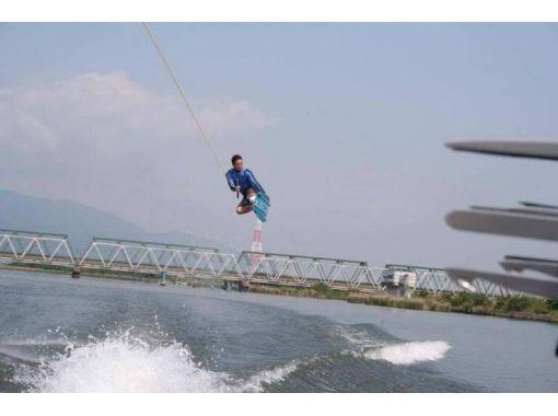 【三重・桑名・ウェイクボード】経験者向け1セット通常プラン!!長良川で爽快感を味わおう!