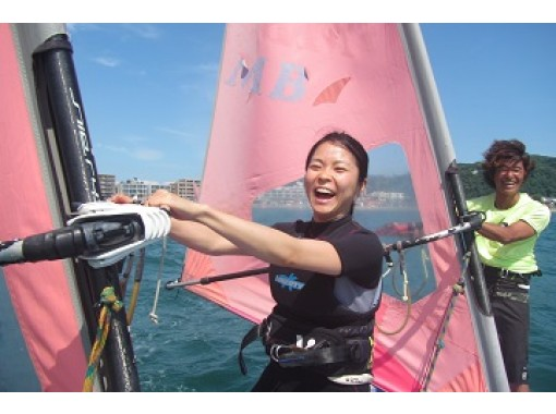 [Kanagawa ・ Dumplings: Beginners are welcome! Windsurfing half-day Experience course ♪の紹介画像