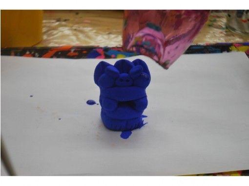 【沖縄・那覇市】手作り体験! たのシーサー絵付け(Sサイズ)