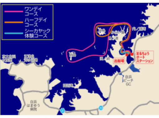 【和歌山・南紀白浜】お手軽★田辺湾シーカヤック体験ツアー(120分コース)
