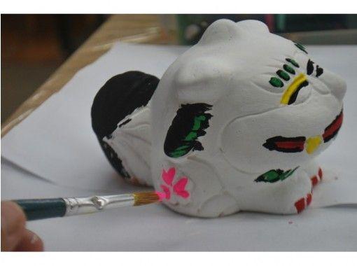 【沖縄・那覇市】手作り体験!幸せシーサー「絵付け体験」手ぶらでOK!
