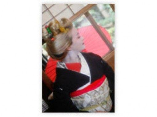 【京都・伏見】着物・衣装レンタル~自由散策OK!写真撮影もできる「芸妓変身プラン」手ぶらでお越しください!の紹介画像