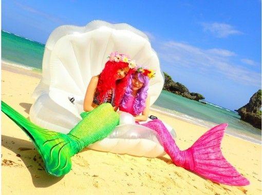 【沖縄・恩納村】プライベートビーチでアリエル姿に♪撮影枚数無制限!プレミアムマーメイドプラン☆の紹介画像