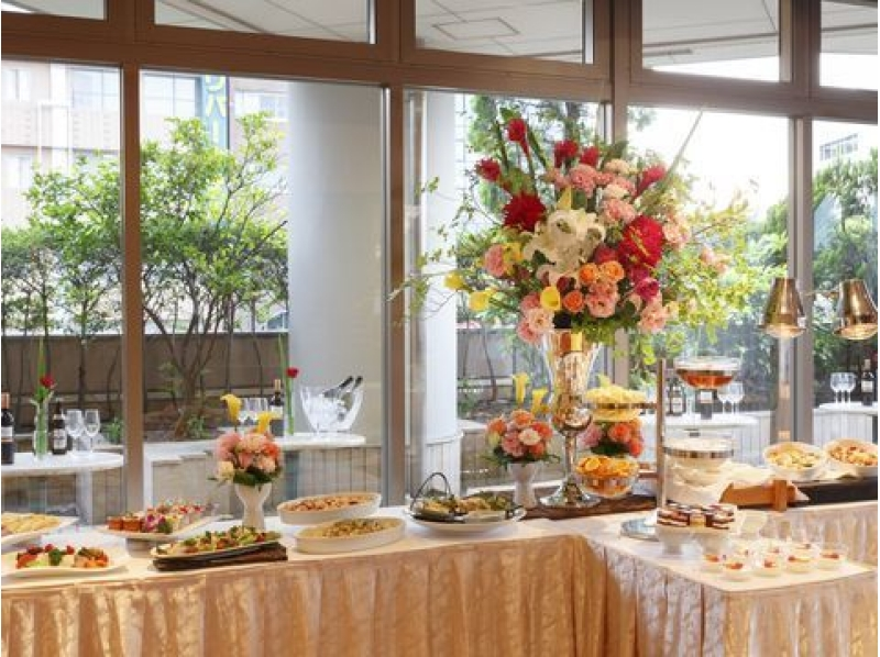 【2017 Sumidagawa fireworks display】 Both sides View Hotel Top floor special seating - with dinner buffet ~ Introduction picture of P010413