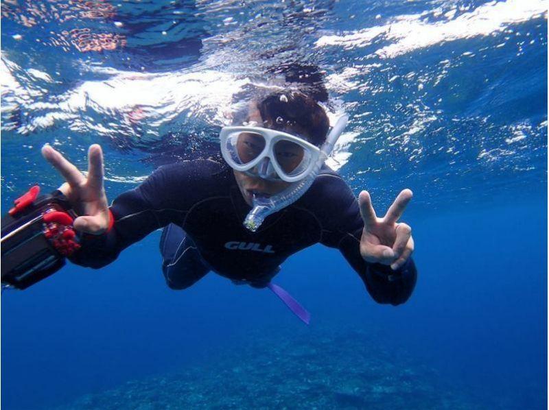 【沖縄・石垣島】マンタシュノーケル&サンゴ礁体験ダイブ!お手軽半日コース!の紹介画像